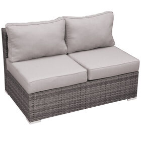 Picture of Grey Weston Outdoor Wicker Loveseat