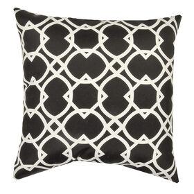 Elipse Noir Square Pillow