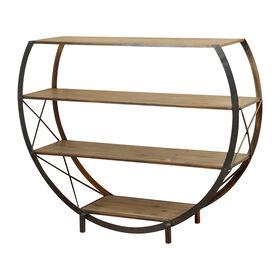 Picture of Santa Monica Circular 4-Tier Bookcase Shelf