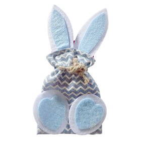 Picture of Blue Fabric Gift Bag with Ears