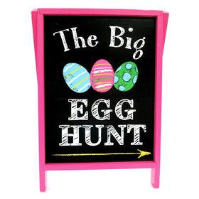Picture of Egg Hunt Chalk Board Decor