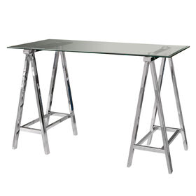 Picture of Middleton Chrome & Glass Desk Table