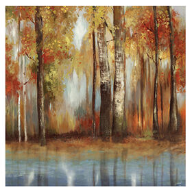 Picture of 35 X 35-in Indian Summer Gallery Art