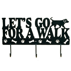 Picture of Metal Go for a Walk Pet Leash Holder - 17 in.