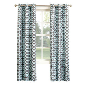Picture of Taurus Slate Window Curtain Panel