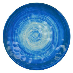Picture of Spanish Tile Melamine Salad Plate - Blue