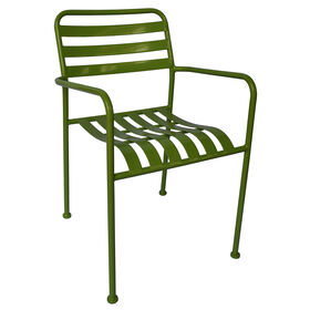 Picture of Green Steel Slat Chair