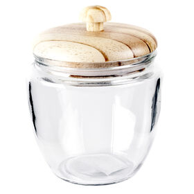 Picture of 27 Ounce Conical Jar with Wood Knob