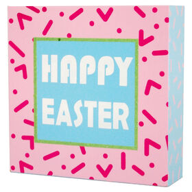 Picture of Happy Easter Sign- 6 in.