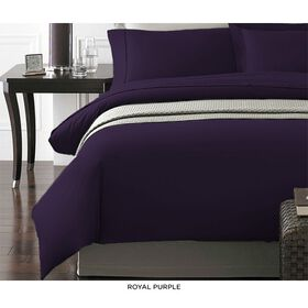 Picture of Purple NYC 3-Piece Duvet Set, King