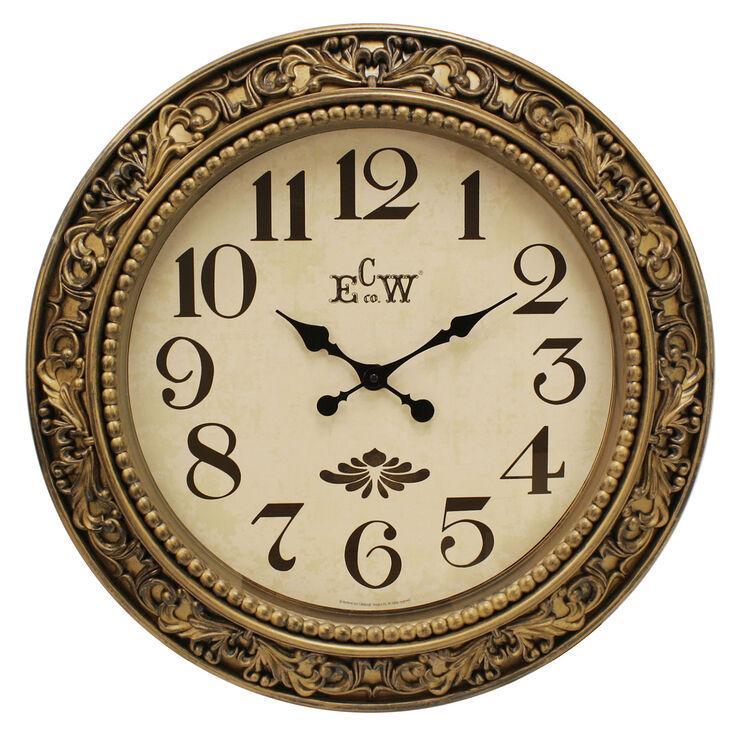 24-in Antique Ornament Clock