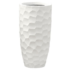 Picture of 11-in. Mango Prism Tall Planter, Cream