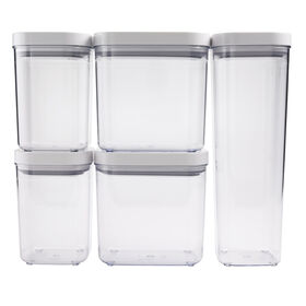 Picture of OXO 5-Piece Assorted Food Storage POP Container Set