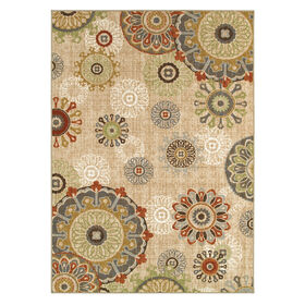 Picture of D191 Multicolor Medallion Rug