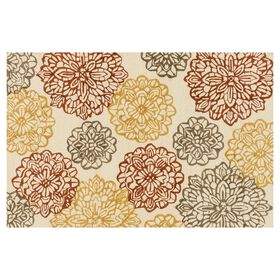 Picture of Layla Flora Multi-Color 5x8-ft