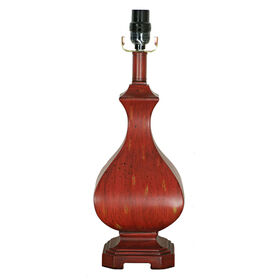 Picture of Red Cottage Table Lamp 18-in