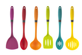 Picture of Lima Silicone 6-Piece Utensil Set, Assorted  (sold separately)