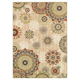 Picture of Floating Medallion Accent Rug
