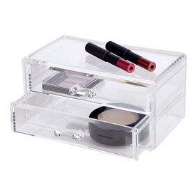 Picture of 2 Drawer Cosmetic Organizer - Clear