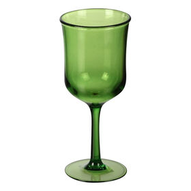 Picture of Green Bandeau Goblet- 13 oz