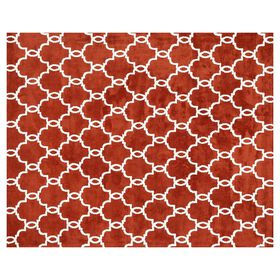 Picture of A123 Rust Charlotte Geo Rug