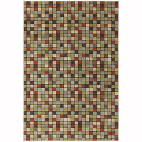 Picture of B255 Multicolor Scheme Rug- 5x7 ft