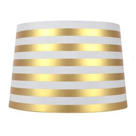 Picture of AU 7X10X8 WHT GOLD STRIPE