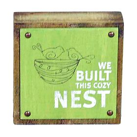 Picture of 6-in. Cozy Nest Wall Decor