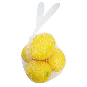 4-Piece Faux Lemons in a Bag