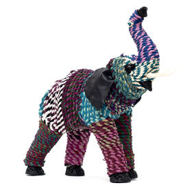 Picture of Recycled Rope Elephant