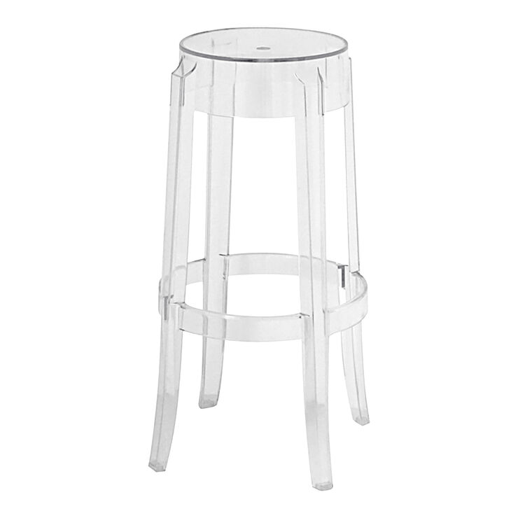 Clear Ghost Bar Stool - Clear Ghost Bar Stool - At Home