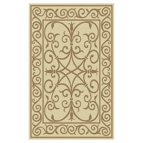 Picture of Beige and Brown Constantine Rug 8 ft