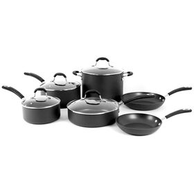 Picture of 10 Piece Hard Anodized Cookware Set