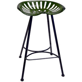 Picture of Green Tractor Barstool 29-in