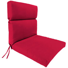 Picture of Red Steel Hinged Chair Cushion