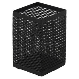 Picture of MTL MESH SQRE PENCIL CUP BLK