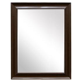 Picture of 36 X 48-in Mocha Beveled Sophia Mirror