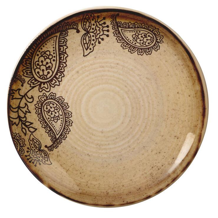 Folkloric Melamine Salad Plate