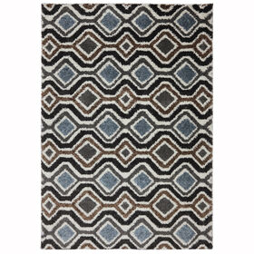 Picture of C53 Diamonds Shag Rug