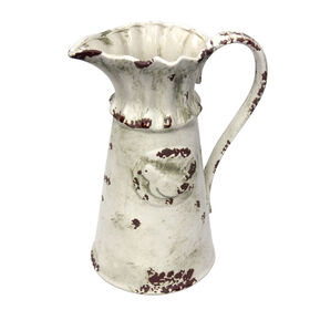Picture of Antique White Pitcher