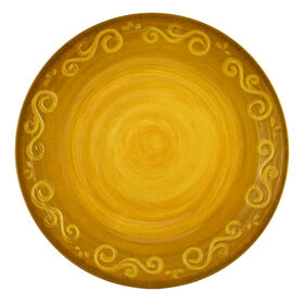 Picture of Siena Melamine Dinner Plate - Gold
