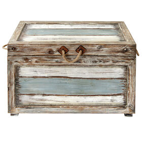 Picture of Nantucket Nested Wood Trunk - Large