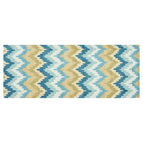 Picture of A155 Aqua Chevron Runner
