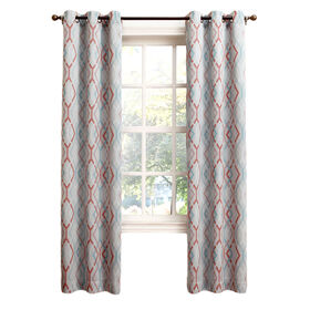 Picture of Stone Newport Window Curtain Panel 95-in