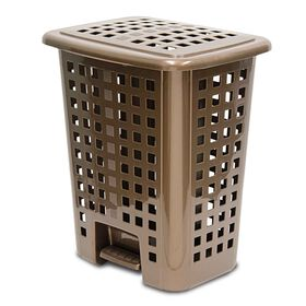 Picture of Brown Lidded Step Hamper