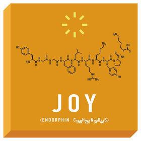 Picture of Chemistry of Joy Accent Art- 16x16 in.
