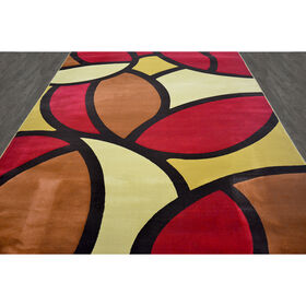 Picture of B54 Stained Glass Rug