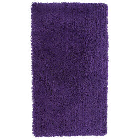 Picture of Purple Shag Accent Rug 24 X 43-in