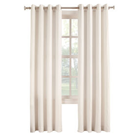 Picture of Ivory Donovan Window Curtain Panel 95-in