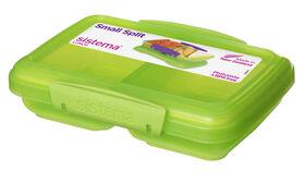 Picture of 350-ml Sistema USA Rectangular Split Lunch Kit, Lime Green